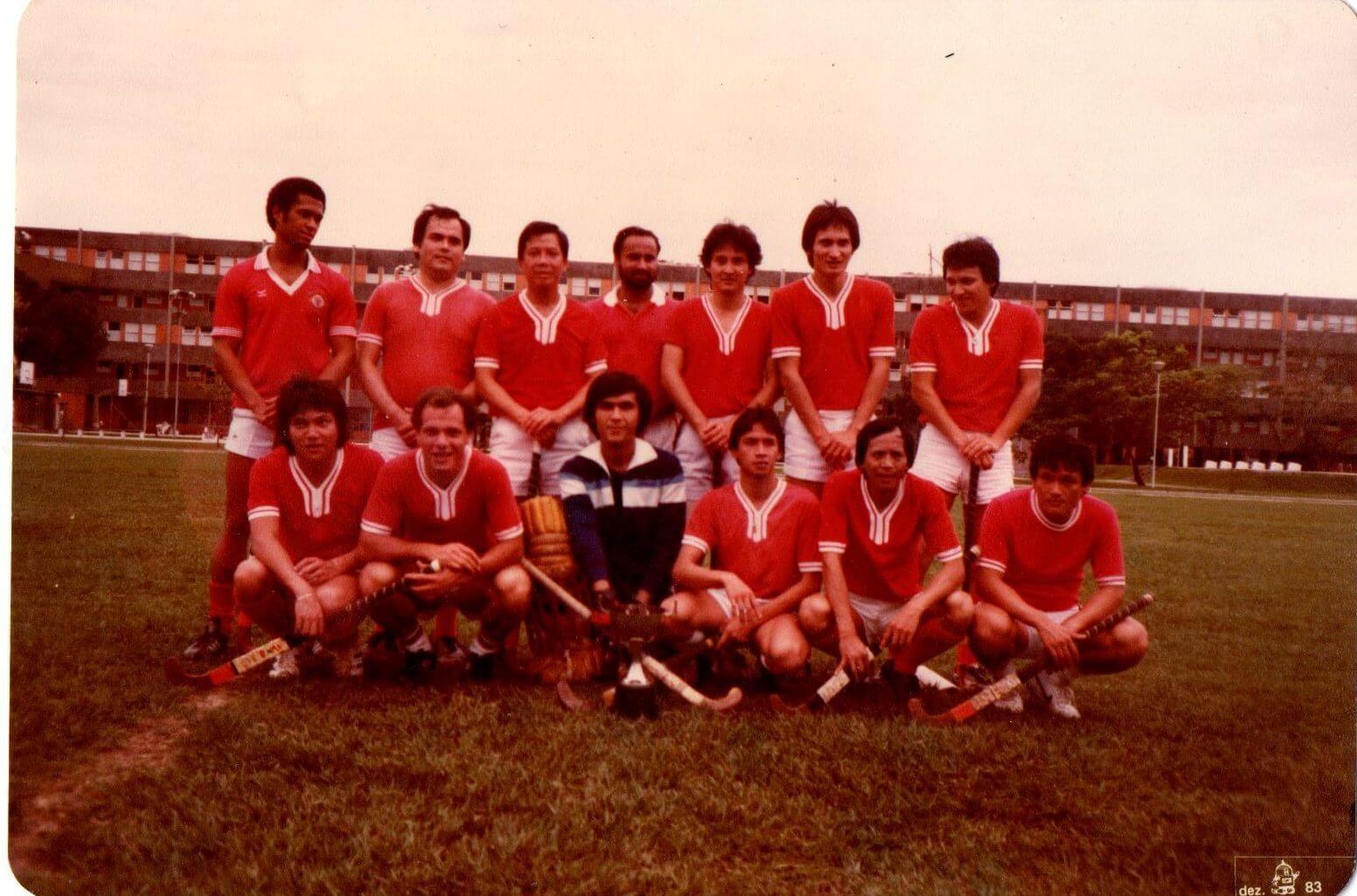 Foto tirada em Dezembro de 1983